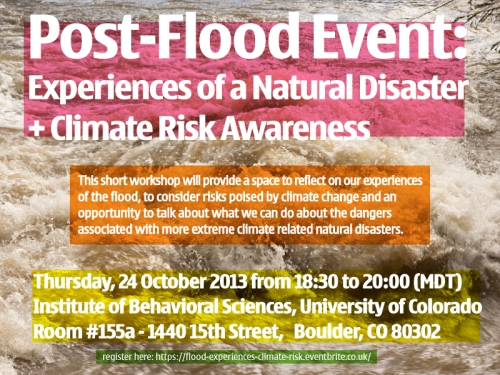 Flood-poster